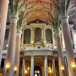 Inside the Nikolaikirche