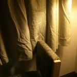 Curtains - never seen an iron!