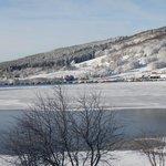 le lac des Hermines le 30 décembre 2013