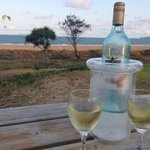 Great spot to sit and take it all in �� wine cooler supplied in our unit (3)
