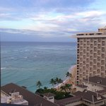 view from room at Hyatt Waikiki