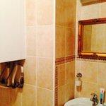 Санузел с ванной в сьюте №3
