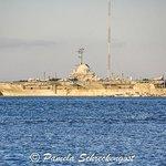 USS Yorktown from Charleston Waterfront Park
