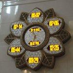 """""""Orologio"""" delle preghiere"""