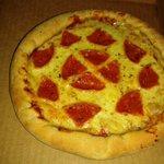 pizza personal de peperoni
