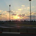 Circuito al tramonto