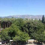 Вид на главный парк Афин