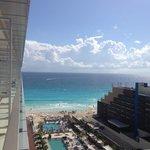 View from room (Honeymoon Suite)