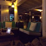 Lovely bar area