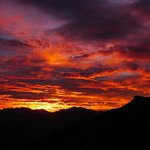 amaneciendo en el Pirineo