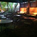Cafe area open 24/7