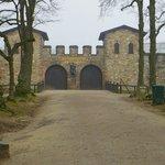 Castle main entrance