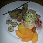 Tabla de Foie y variación de patés surtidos