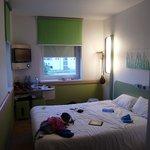 Habitación limpísima