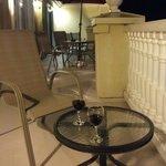 Le grand balcon pour prendre l'apéro, Château Fraser