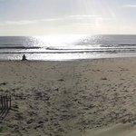 Panoramic beach view