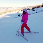 Our Daughter skiing in Snowmass