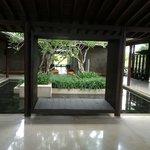 Interior lobby garden