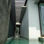 Private wrap-around pool