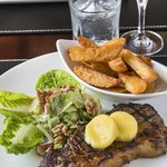 Char Grilled 300gm Tasmanian Porterhouse Steak