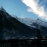 MontBlanc from the room balcony