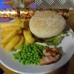Christmas burger what a cracker