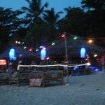 after sunset at khlong khong beach