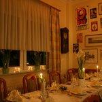 Festliche Tafel im Restaurant Zum Löwen