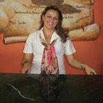 Agnia - lobby reception wonderful lady