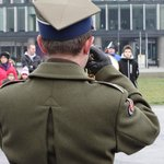 Changing of the guard - bugler