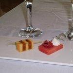 Watermelon & Cantaloupe brochette