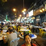 Jalan Alor Food Street ... Seafood and local dishes ... Open till pass midnight.