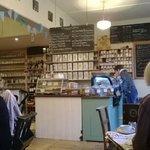 Interior of the cafe/restaurant