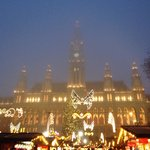Rathaus at Christmas time is gorgeous!