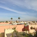 Overview of Marrakech form the Terrace
