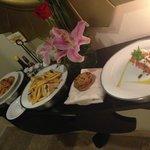 Room service deliver at 1 AM!!