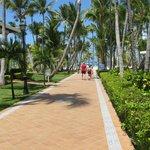 Walk between hotels