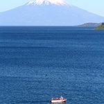 View of Lago Llanquihue Osorno from the hotel