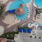 Beautiful resort setting