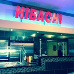 The Hibachi counter.