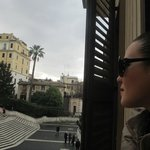 affacciarsi e vedere Piazza di Spagna...Suggestivo