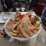 seafod platter