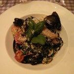 Pasta and Sea fruits