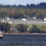 View of hotel from Northport