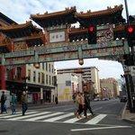 Chinatown across street