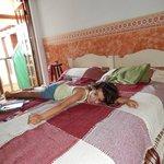 cama grande!!