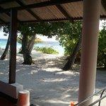 Vista dal bungalow