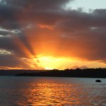 Sunset over Port Vila