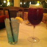 Electric lemonade and Sangria