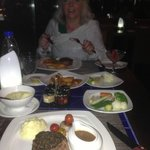 Dining at Shooters…..